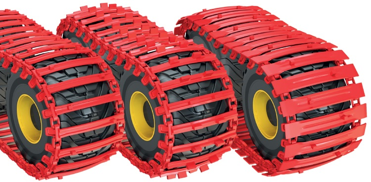 Clark Tracks for Harvesters, Skidders and Forwarders